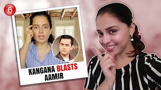 Kangana Ranaut takes a jibe at Aamir Khan's intolerance' comment after facing an FIR