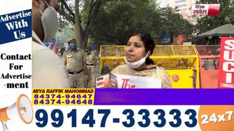 Tanda Gang Rape मामले में पीड़िता को इंसाफ दिलाने के लिए Delhi में Protest