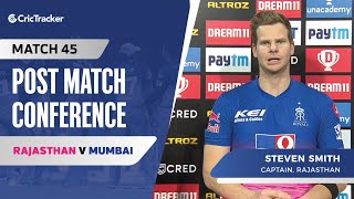 Steve Smith speaks about Rajasthan's win; Their discussion during the innings break