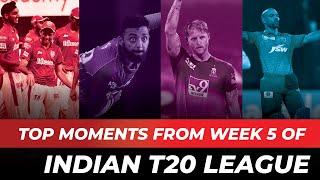 Varun Chakravarthy's Maiden Fifer, Ben Stokes' Masterclass Against Mumbai, Week 5 Top Moments