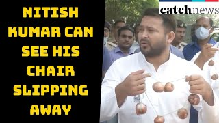 'Nitish Kumar Can See His Chair Slipping Away,' Says Tejashwi Yadav | Catch News