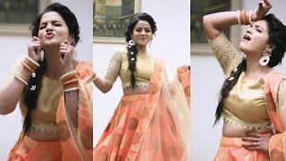 Single'a Naan Romba Naal'ah Irundhen பாட்டுக்கு கலக்கலா Dance ஆடும் VJ Chithra | Serial | Actress