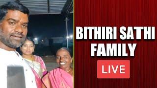 Bithiri Sathi Family LIVE | Bithiri Sathi Dasara Celebrations at home | Bithiri Sathi Wife & Mother