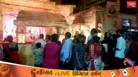 रविंद्र संघ से दुर्गा उत्सव का सीधा प्रसारण