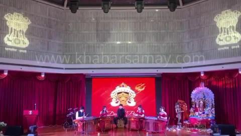 #China: Durga Pooja celebrated