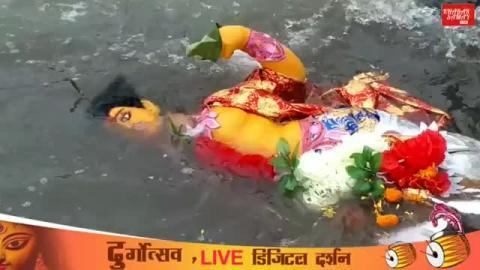 Durga Puja visarjan Live from Lal Mohan Molik Niranjan Ghat (Mahananda) Siliguri