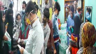 Amjadullah Khan Helping The People Of Yakuthpura Moula Ka Chilla | Hyderabad |@Sach News