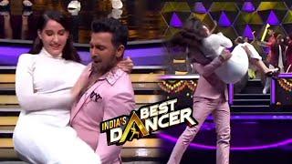 India's Best Dance Par Lauti Nora Fatehi, Terrance Ne God Me Utha Liye
