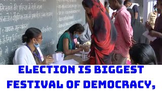 'Election Is Biggest Festival Of Democracy,' Says Giriraj Singh   Catch News