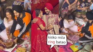 Very Cute Video Of Neha Kakkar & Rohan Preet Finding Ring  | Neha Kakkar Full Wedding Video