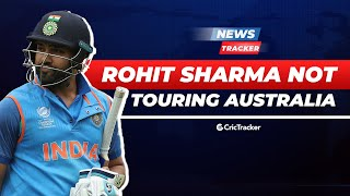 Rohit Sharma Has Been Excluded From All Three Side, Indian Cricket Team For Australia Tour Announced