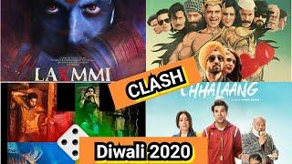 Laxmmi B@mb Vs LUDO Vs Chhalaang Vs Suraj Pe Mangal Bhari Clash On OTT This Diwali 2020