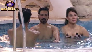 Bigg Boss 14: Abhinav Shukla Ka Swimming Class, Naina Aur Nishant Ko Sikha Rahe Hai