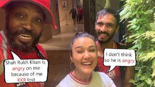 Preity Zinta Very Funny Video With Chris Gayle  After Kings XI Punjab Defeats KKR By 8 Wickets