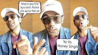 Rajkumar Rao Did Mindblowing RAP of Yo Yo Honey Singh's CARE NI KARDA Song