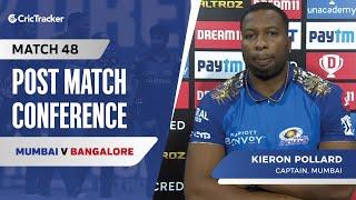 Kieron Pollard spoke about Mumbai's win, Their success against Virat Kohli
