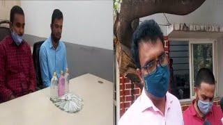 2 Police Officers Got Arrested By ACB | Taking Bribe Of 50,000 | Gandhi Nagar |@Sach News