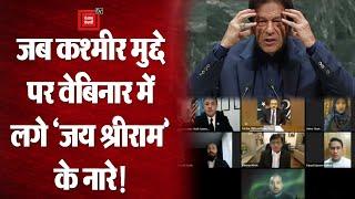 Pakistan: Kashmir मुद्दे पर चल रहे International Webinar में गूंजा 'जय श्रीराम', Viral हुआ Video