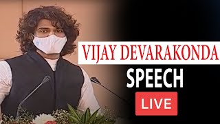 LIVE : Vijay Devarakonda Speech At Telangana Electric Vehicle Summit | KTR | Top Telugu TV