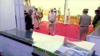 PM Modi inaugurates Water Aerodrome and Sea Plane Service in Kevadia, Gujarat.