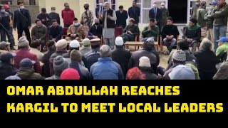 Omar Abdullah Reaches Kargil To Meet Local Leaders | Catch News