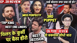 Bigg Boss 14 Review EP 28 | Rahul Vaidya TRP King Smartest Player, Jabardast Weekend Ka Vaar, Puppet