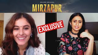 MIRZAPUR 2 | Rasika Dugal And Isha Talwar Exclusive Interview