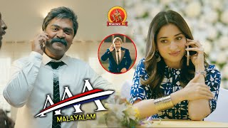 Tamannaah Calls Simbu for Help | AAA Malayalam Movie Scenes | Shriya Saran