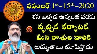 November Month Lucky Zodiac Signs | November Month Horoscope | Astrologer Mantha Surya Narayana