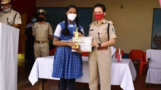 Sundargarh SP IPS Sagarika Nath Felicitates Winners Of Online Speech Contest | କୁନି ଝିଅ ର ଭାଷଣ