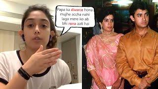 Aamir Khan Daughter IRA KHAN Very Emotional About Being Star Kid & Parents Divorce, Family Problems