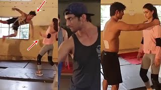Sushant Singh and Kriti Sanon Intense Training For Raabta Movie Fight Sequence Will Make You Say WOW