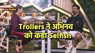 Bigg Boss 14: Abhinav Ne Kiya Rubina Ko Nominate, Trollers Ne Kaha Selfish Hai Abhinav
