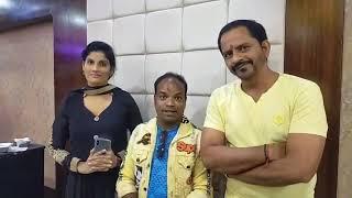 """महा अष्टमी के दिन हुआ प्रमोद प्रेमी की फिल्म """"मा कसम"""" का मुहूर्त    Sanjay Bhushan Live"""
