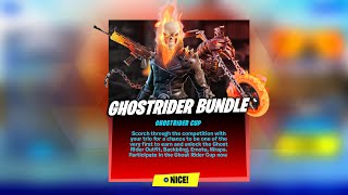 Fortnite Ghost Rider Cup Live! Ghost Rider Skin (Fortnite Battle Royale)