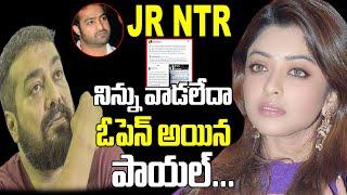 Jr NTR నిన్ను వాడలేదా | Payal Ghosh Latest News | Anurag Kashyap | Tollywood Gossips | Top Telugu TV