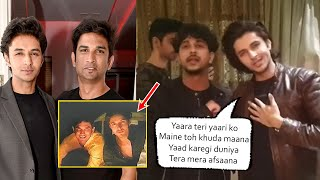 Sushant Singh Close Friend Vaaste Song Actor Siddharth Celebrated His Birthday & Shares SSR Memories