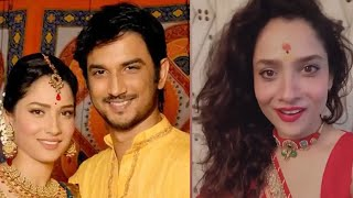 Ankita Lokhande Celebrated 'karwa Chauth' For Late Actor Sushant Singh Rajput