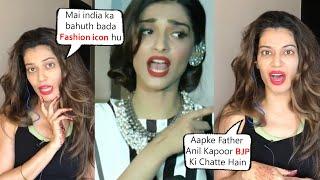 Sonam Kapoor Very Badly Trolled By Payal Rohatgi | Kya Sonam ka MATA PITA ASLI HAI YA NAKLI