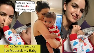 Hardik Pandya Wife Natasa Very Cute Video With Son And Missing Her Husband Badly