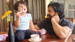 Ayra fun time with Yash so cute ❤️❤️ | Ayra Yash New Video | Radhika Pandit