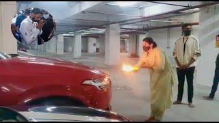 Ayudha Pooja At Kiccha Sudeep House | Sudeep Cars | Priya Sudeep