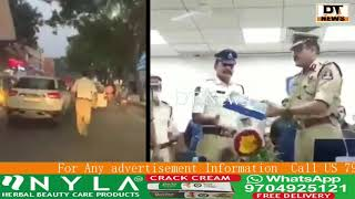 hyderabad traffic  constable who won hearts after running almost a kilo meter to clear a traffic jam