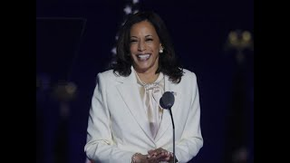 Kamala Harris, as first woman US Vice President-elect, says she 'won't be the last'