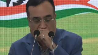 Ajay Maken addresses media on the fourth anniversary of Demonetisation
