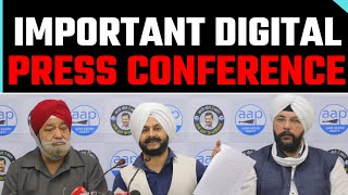 LIVE | Senior AAP leader Harsharan Singh Balli  & MLA Jarnail Singh addressing an Press Conference