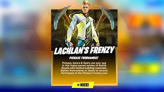 Fortnite Lachlan's Pickaxe Frenzy Live! Lachlan Skin (Fortnite Battle Royale)