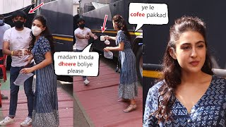 Sara Ali Khan Assistant Frustrated By Sara's Behaviour in front of media