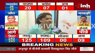 MP News || By-Election Results, BJP Leader Yashodhara Raje ने की INH से बातचीत - जीत पर बोली