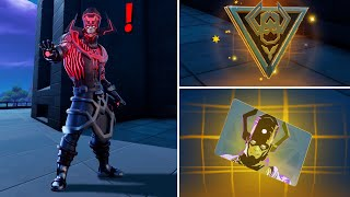 Fortnite All New Bosses, Mythic Weapons & Vault Locations, KeyCard Boss Galactus in Season 4